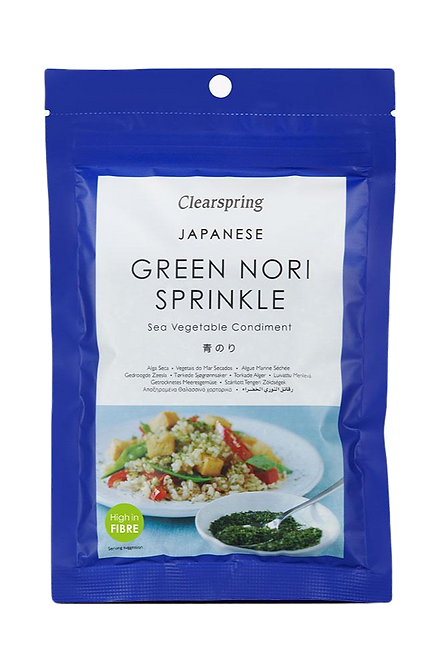 Japanese Green Nori Sprinkle - Sea Vegetable Condiment