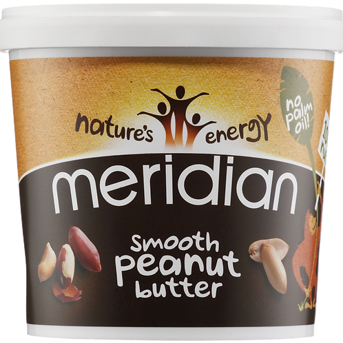 Meridian Natural Smooth Peanut Butter 1kg