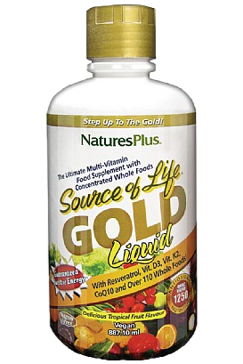 Nature's Plus Source Of Life Gold Liquid (30oz)