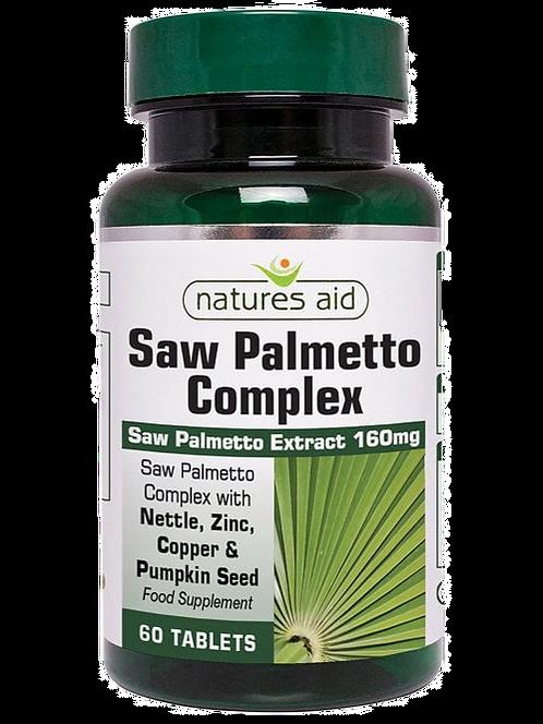 Natures Aid Saw Palmetto Complex