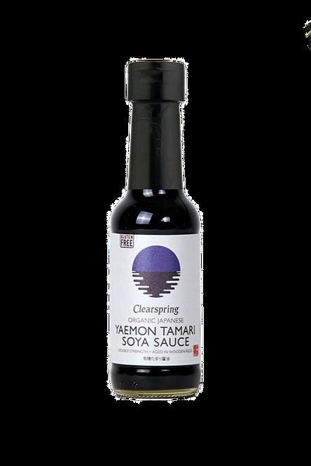 Organic Japanese Yaemon Tamari Soya Sauce - Double Strength