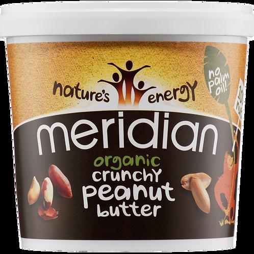Organic Crunchy Peanut Butter 1kg