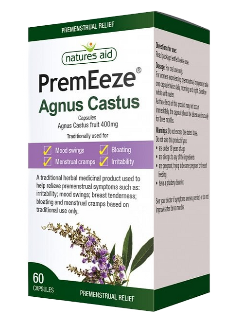 Natures Aid PremEeze (Agnus Castus)