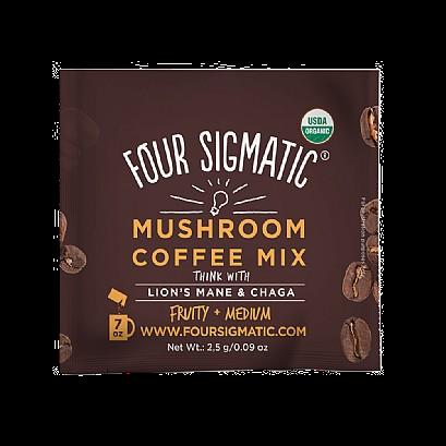 Four Sigmatic Foods Mushroom Coffee With Lion's Mane & Chaga (10 Sachets)