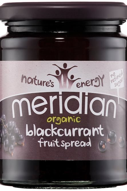 Organic Blackcurrant Fruit Spread 284g