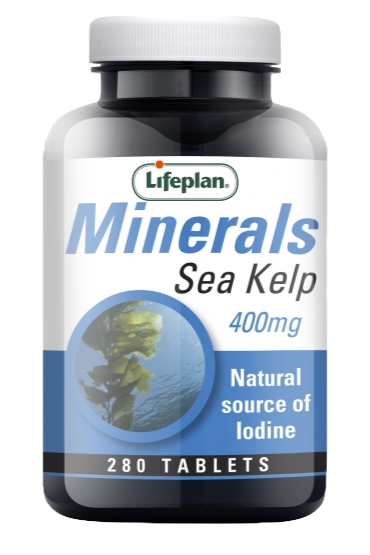 Lifeplan Sea Kelp Supplement 400mg X 280 Tablets