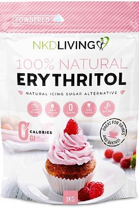 NKD Living Powdered Erythritol (1kg)