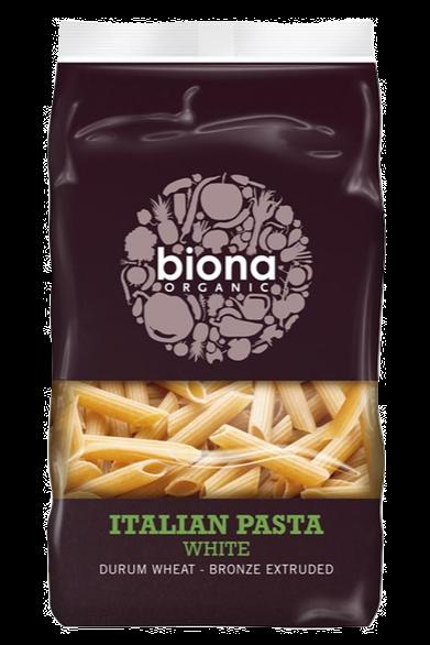 Biona Organic White Wheat Penne Pasta 500g