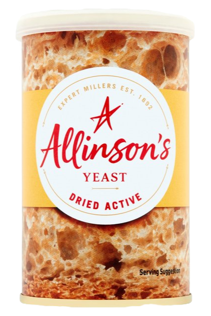 Allinson Dried Yeast, 125g