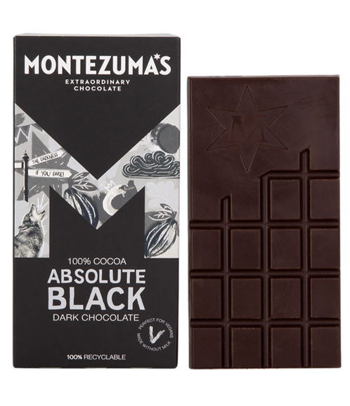 Montezuma Absolute Black Chocolate