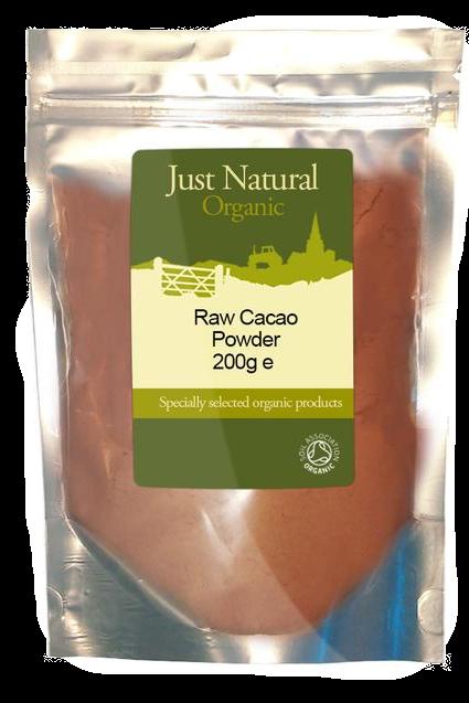 Just Natural Organic Raw Cacao Powder 200g