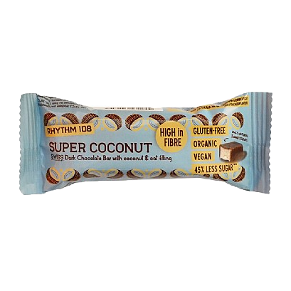 Rhythm108 Swiss Chocolate Bar: Super Coconut 33g