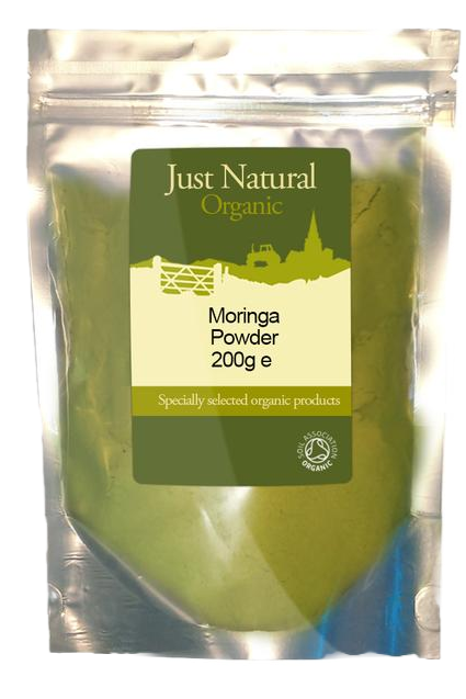 Just Natural Organic Moringa Powder 200g