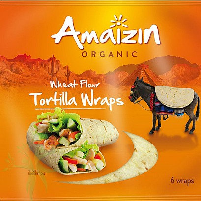 Amaizin Organic Tortilla Wraps (240g)