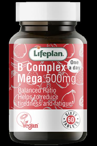 Lifeplan Vitamin B Complex (Mega) X 60 Tablets