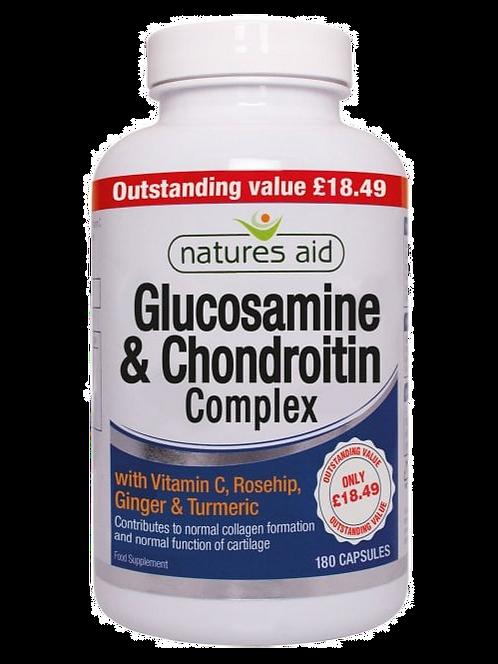 Natures Aid Glucosamine & Chondroitin Complex