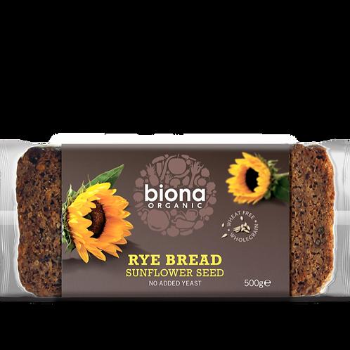 BIONA ORGANIC Rye Bread – Sunflower Seed