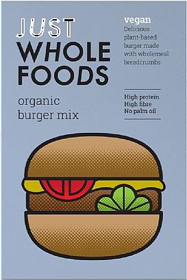 Just Wholefoods Vegan Burger Mix (125g)