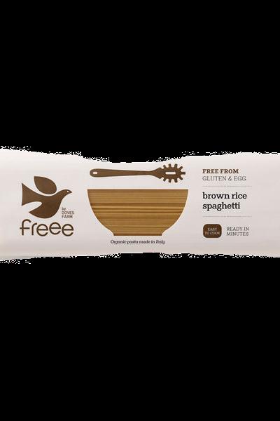 Freee by Doves Farm Gluten Free Organic Brown Rice Spaghetti 500g