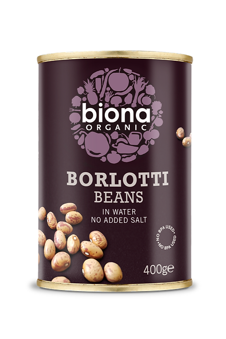 BIONA ORGANIC Borlotti Beans