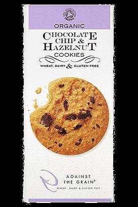 Against The Grain Chocolate Chip & Hazelnut Cookies (150g)