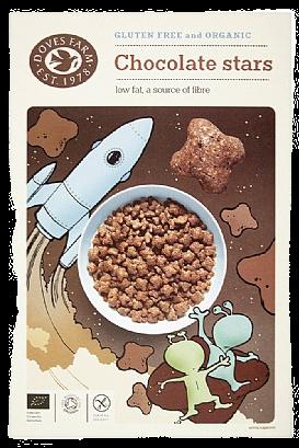 Doves Farm Chocolate Stars (300g)