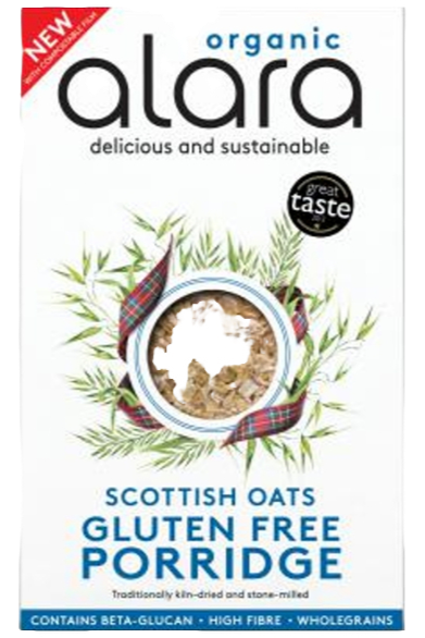 Alara Scottish Gluten-free Porridge Oats 500g, Organic