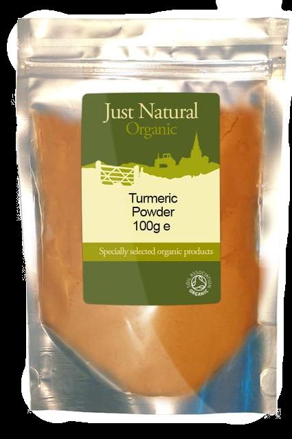 Just Natural Organic Turmeric Powder 100g