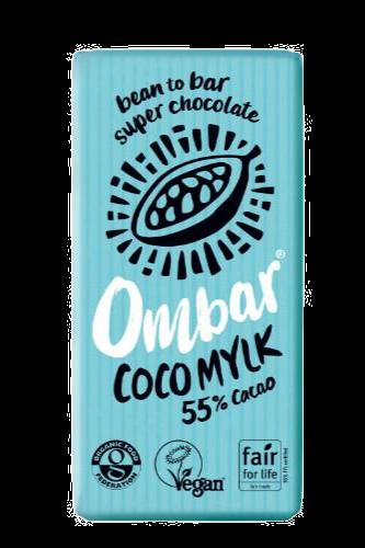 Ombar Organic Raw Chocolate | Coco Mylk | 70g