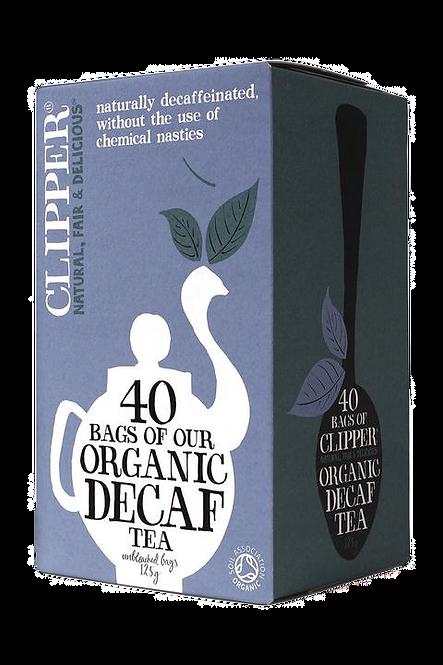 CLIPPER Organic everyday decaf tea 40 bags