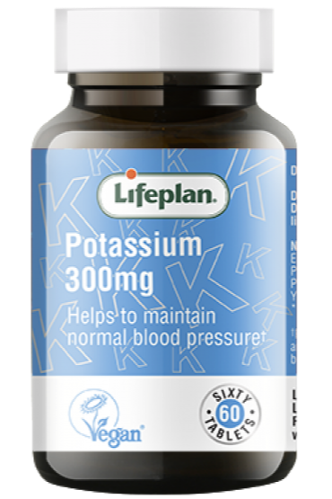 Lifeplan Potassium 300mg X 60 Tablets
