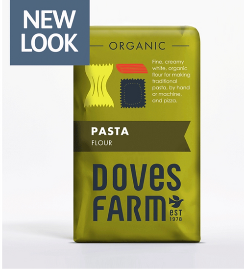 Doves Farm Organic Pasta Flour 1kg