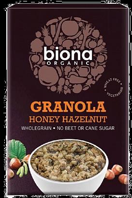 Biona Honey & Hazel Crunchy (375g)