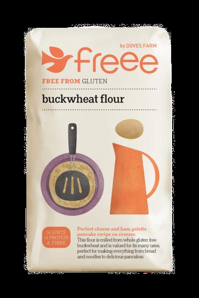 Freee by Doves Farm Gluten Free Buckwheat Flour 1kg