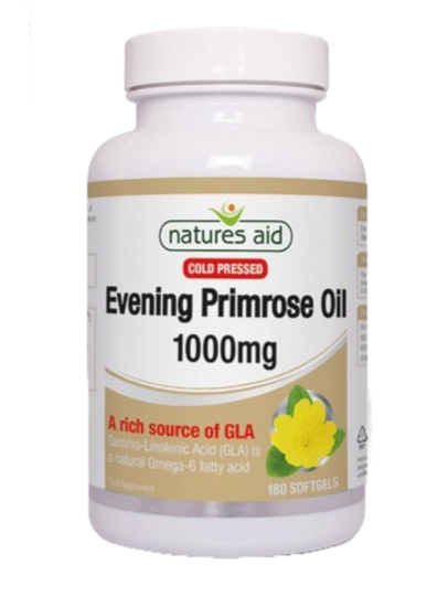 Natures Aid Evening Primrose Oil 1000mg 180Softgels