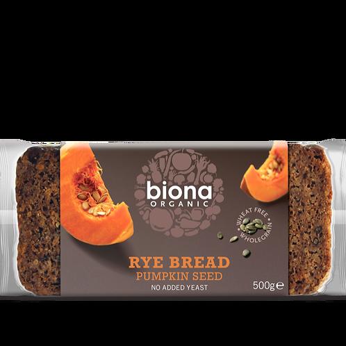 BIONA ORGANIC Rye Bread – Pumpkin Seed