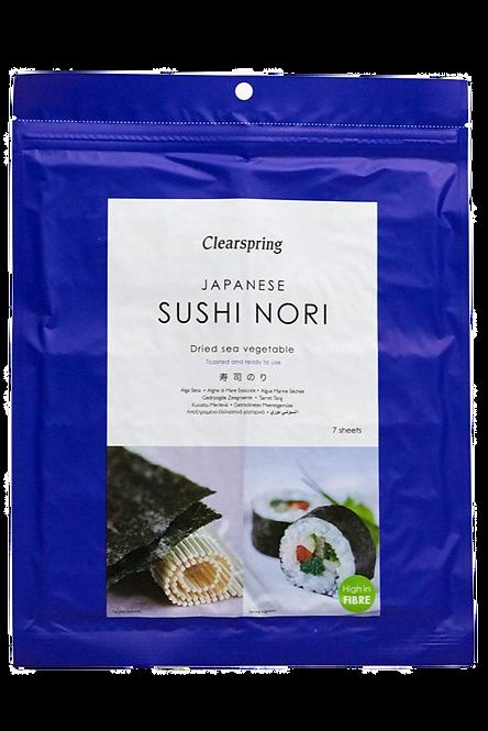 Japanese Sushi Nori - Dried Sea Vegetable (Toasted)