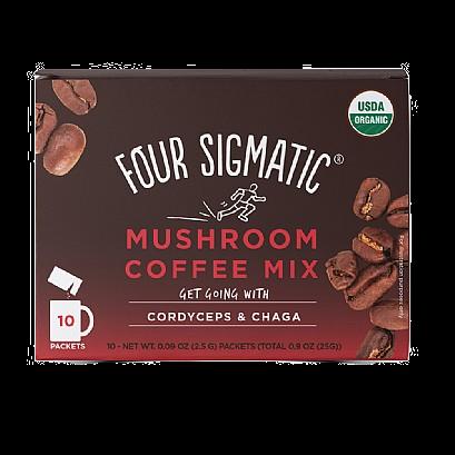 Four Sigmatic Foods Mushroom Coffee With Cordyceps & Chaga (10 Sachets)