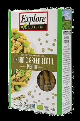 Explore Cuisine Green Lentil Penne (250g)