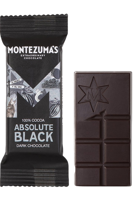 Montezumas Absolute Black Mini Bar 25g