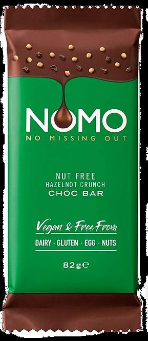 Nut Free Hazelnot Crunch Choc Bar 82g
