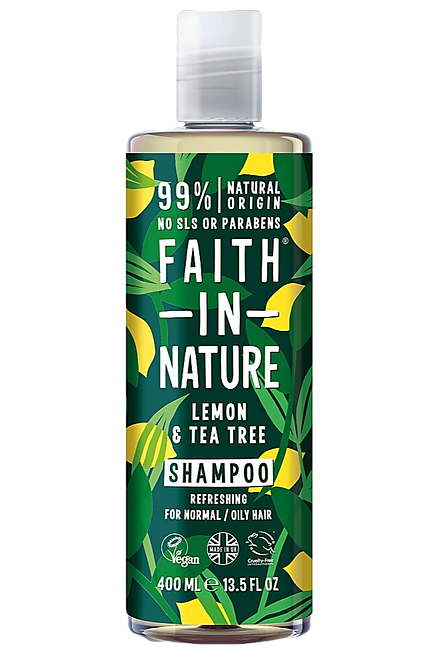 LEMON & TEA TREE SHAMPOO 400ML