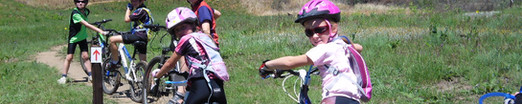 Kid friendly mountain biking