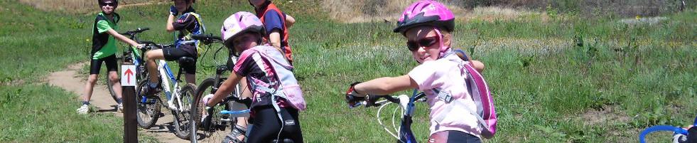 Kid friendly mountain biking
