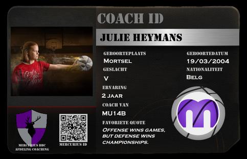 Julie Heymans