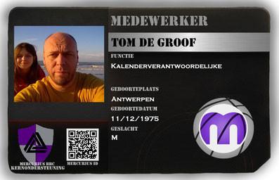 Tom de Groof