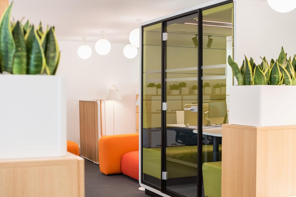 cabine acústica para escritório