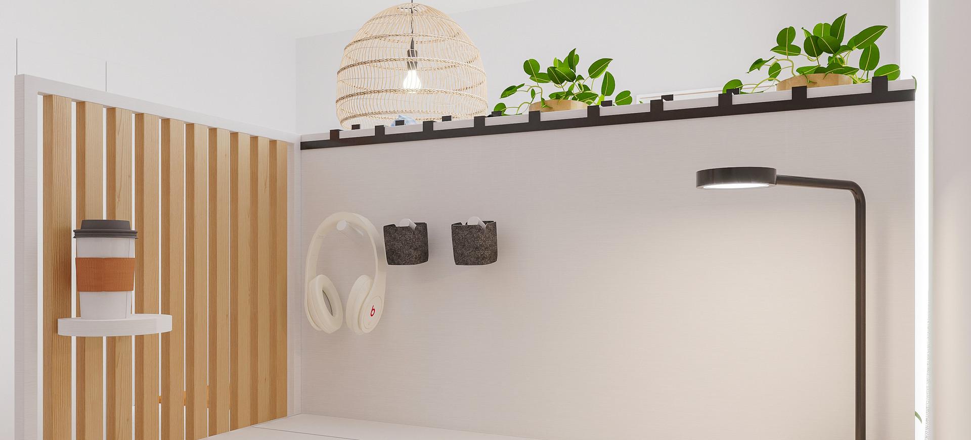 Cubi by Rima Design - Secretária flexivel para teletrabalho
