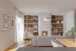 Remodelação de cozinha e sala em open space