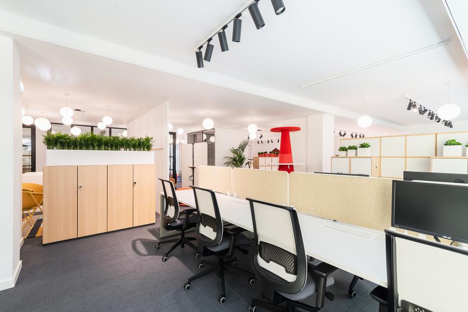 zona de residentes - design de escritórios e mobiliário Steelcase